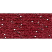 Herrschners Worsted 8 Holiday Sparkle Yarn - Garnet