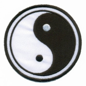 Yin Yang ying tao hippie hippy retro boho weed applique Embroidered Easy Iron On Patch