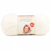 Premier Yarns 1-Pack Solid Deborah Norville Everyday Soft Worsted, Snow White