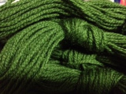 Paternayan Needlepoint 3-ply Wool Yarn-Colour-674-Green Apple Dark