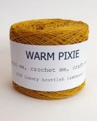 Luxury 100% Soft Scottish Lambswool - Acid Yellow - For Hand & Machine Knitting, Crochet and Crafting.