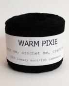 Luxury 100% Soft Scottish Lambswool - Black - For Hand & Machine Knitting, Crochet and Crafting.