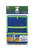 Boye Crochet Dude Steel Hook Set Includes Sizes 00 0 1 2 4 6 8 & 9