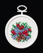 Mistletoe Mini Cross Stitch Kit