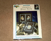 """Kyle Hollingsworth's """"A Heavenly View of Planet Earth"""" Cross Stitch Scene"""