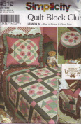 Simplicity Quilt Block Club Pattern 9312 Leson #4