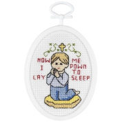 Janlynn Praying Boy Counted Cross Stitch Kit
