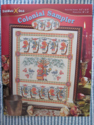 Colonial Sampler Counted Cross Stitch Chart