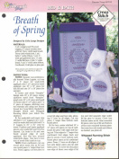 Breath of Spring by Celia Lange Designs 1995 Cross Stitch Pattern