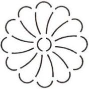 4-1/2 Flower Quilting Stencil