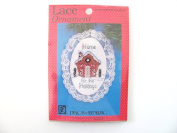 Cross stitch kits Lace ornament Home 4 the holidays Christmas
