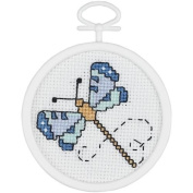 Janlynn Dragonfly Counted Cross Stitch Kit