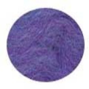 Ecosoft wool roving for felting - 1 full ounce Amethyst
