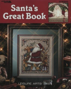 Santa's Great Book - Cross Stitch Pattern