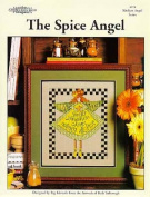 The Spice Angel a Cross Stitch Design By Carolina Country House