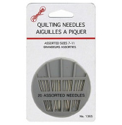 Assorted Sizes 7 to 11 Quilting Needles