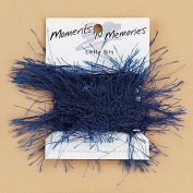 Little Bits Royal Blue Furry Memory Fibres - 3.5 yards -- Moments 'n Memories - #168-0249