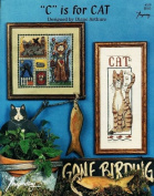 """C"" is for CAT - Counted Cross Stitch Booklet - Diane Arthurs"