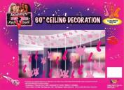 Forum Novelties Outta Control Bachelorette Party Collection Ceiling Decoration, 150cm