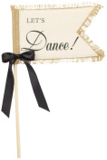 Mud Pie 'Lets Dance' Wedding Flag