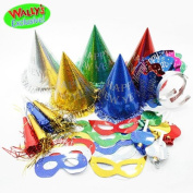 New Years Super Value Party Kit with Mask for 10