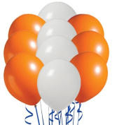 Perfect Colour Inflatables Orange and White Variety Pack of 20