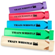 BuySeasons 190647 Plastic Train Whistles
