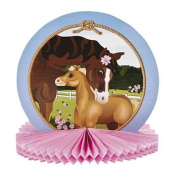 Mare & Foal Tissue Centrepiece - Party Tableware & Table Decorations