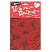 X-Rated Valentine Heart Shaped Balloons - Set of 24