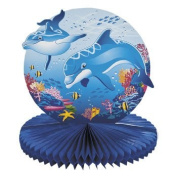 Dolphin Party Tissue Centrepiece - Party Tableware & Table Decorations