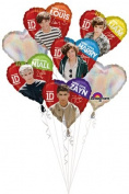 One Direction Balloon Bouquet