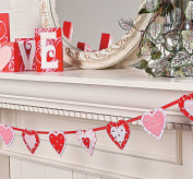 Layered Heart Garland - Party & Valentine's Day Decor