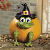 Frog Pumpkin Poke-Ins - Halloween Party Supplies & Decorations & Halloween Party Decorations