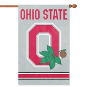 Ohio State Buckeyes Applique Banner Flags from Party Animal