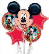 Funny Party Hats ab133 Mickey Mouse Birthday Bouquet Of Balloons