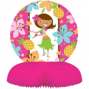 Creative Converting Pink Luau Fun Honeycomb Centrepiece Party Decoration