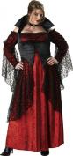InCharacter Costumes, LLC Vampiress Adult Full Length Gown