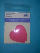 G.Lalo Decorative Accessories Hearts 20 Per Package