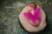 Glitter Fairy Butterfly Wings, Newborn, Baby, Photography prop CHOOSE Colours