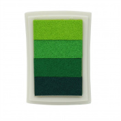 All-purpose Gradient Green Stamp Ink Pad Scrapbook Card Making Craft DIY Hot
