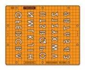 Embossing Stencil Set-Alpha Block Letters