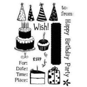 PC - Simply Chic - Birthday Wish Stamps