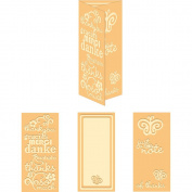 Craftwell USA World of Thanks Embossing Folder, 21cm by 30cm