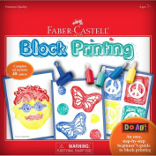 Faber and Castell Do Art Block Printing