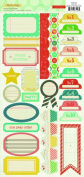 American Crafts Party Day Sticker Labels for Scrapbooking