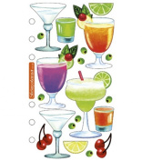 Sticko Vellum Stickers - Drinks