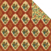 Graphic 45 French Country Bonjour Scrapbook Paper
