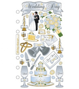 Sticko Stickers Pkg-Weding Day