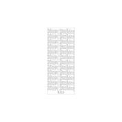Elizabeth Craft Designs - Happy Birthday Large Peel Off Stickers 10cm x 23cm Sheet