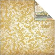 Kaisercraft - Lush - 12x12 Scrapbook Paper - Maple